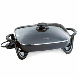 Presto 06852 16-Inch Electric Skillet with Glass Cover