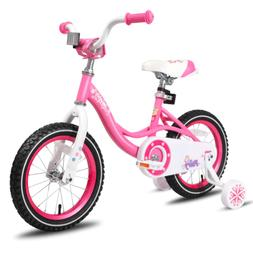 JOYSTAR 12 14 16 Inch Kids Bike for Girls Toddler Bicycle wi
