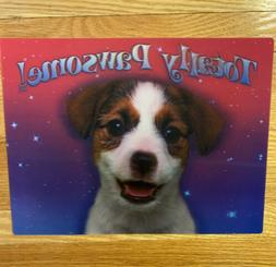 12 x 16 inch Lenticular Hologram 3D Picture Poster New Puppy