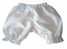 Bargain! White Bloomers 14-16 Inch fits Bitty Baby + Twins D