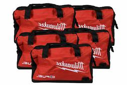 Milwaukee 16 inch Contractor Tool Bag 5 Pack. Durable, water