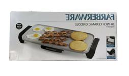 Farberware 16-Inch Electric Nonstick Griddle Adjustable Temp