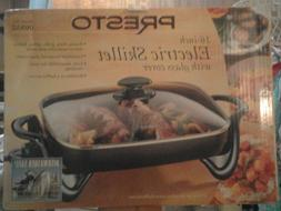 PRESTO 16 Inch Electric Skillet With Glass Cover 06852 NEW