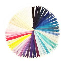 16 INCH No.3 NYLON CLOSED END ZIP *83 COLOURS* ZIPPER SEWING