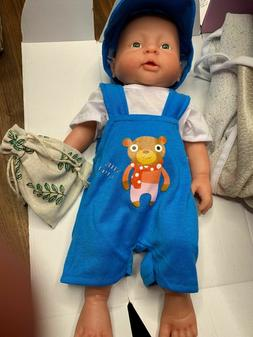 Vollence 16 Inch Realistic Lifelike Baby Boy Doll  Look Real