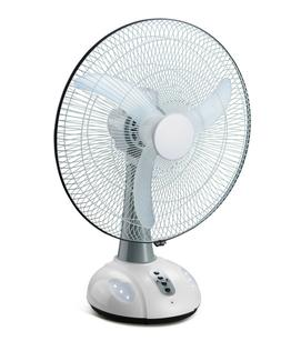 16 Inch Rechargeable Battery Oscillating Adjustable Fan