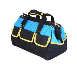 16 Inch Heavy Duty Tool Bag with Wide Mouth for Tool Storage