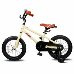 Totem 16inch Kids Bike with Training Wheels for 3-7 y/o Boys