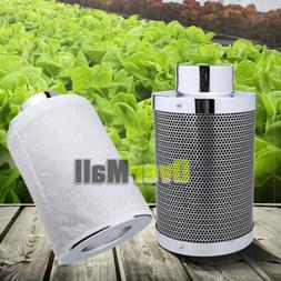 "4"" 6"" 8""  Air Carbon Filter Odor Control w/ Virgin Charcoal"