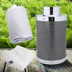 "4"" 6"" 8"" inch Air Carbon Filter Odor Control w/ Virgin Charc"