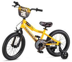 "Schwinn Boy's Scorch Bicycle, 16"", Yellow"