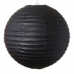 black paper party wedding lanterns 12 16