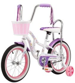 SCHWINN BLOOM KID'S BIKE,16-INCH WHEEL,TRAINING WHEELS,GIRL'