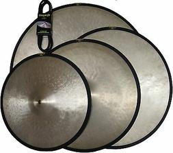 Cymbal Mute: Cymgard Lites 4-Pack 14, 16, 18 and 20-inch Bla
