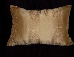 Decorator cotton 12 x 16 inch pillow cover sage green embroi