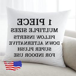 Discount Pillow Inserts Euro Throw Pillow Form Insert All Si