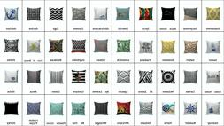 First Class Design Decorative Square Throw Pillow Covers 16x