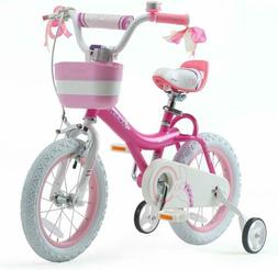Girls Bike 16 INCH with Basket Girls Bicycle Training Wheels