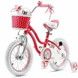 Royalbaby Girls Bike Stargirl 16 Inch Girl's Bicycle With Tr