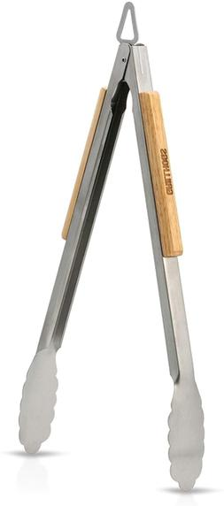 GRILLHOGS 16 Inch Barbecue Grill Tongs