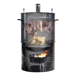 Hakka 16-Inch Multi-Function Barbecue and Charcoal Smoker Gr
