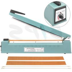 Hand Impulse Sealer Heat Sealing Machine 16 Inch For Plastic