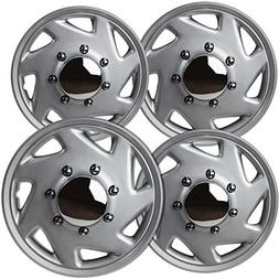 OxGord Hub-caps for 07-14 Ford E150  Wheel Covers 16 inch Sn