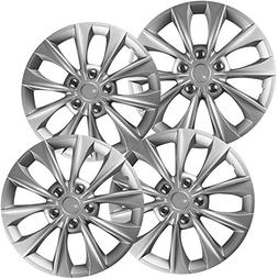 OxGord Hub-caps for 15-19 Toyota Camry  Wheel Covers 16 inch