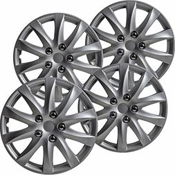 OxGord Hub-caps for 92-15 Toyota Camry  Wheel Covers 16 inch