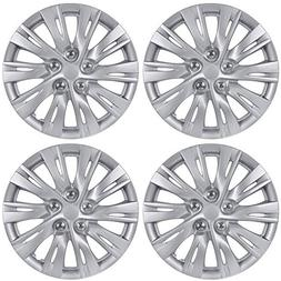 """BDK K1037 16 Toyota Camry Style Hubcaps 16"""" Wheel Covers-201"""