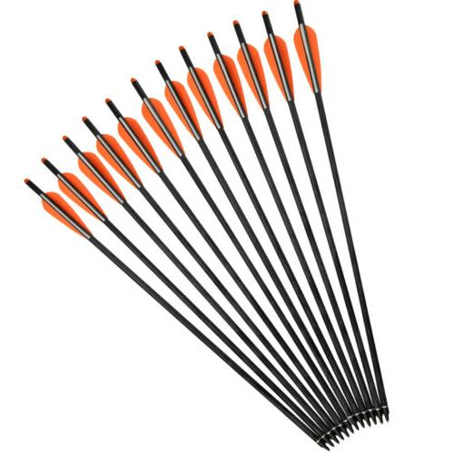 16-22 inch Crossbow Mixed Carbon Arrows