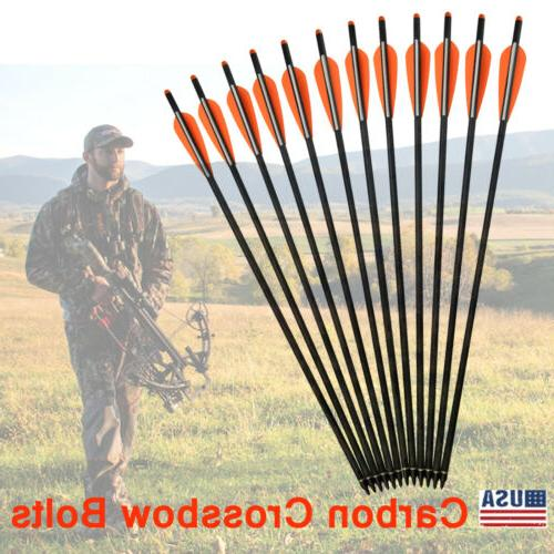 16 22 inch crossbow bolts mixed carbon