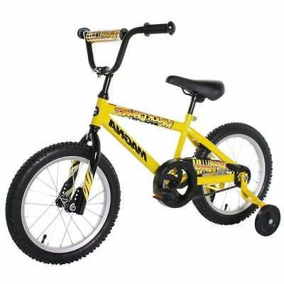 16-inch Boys Magna Major Damage Bike Yellow