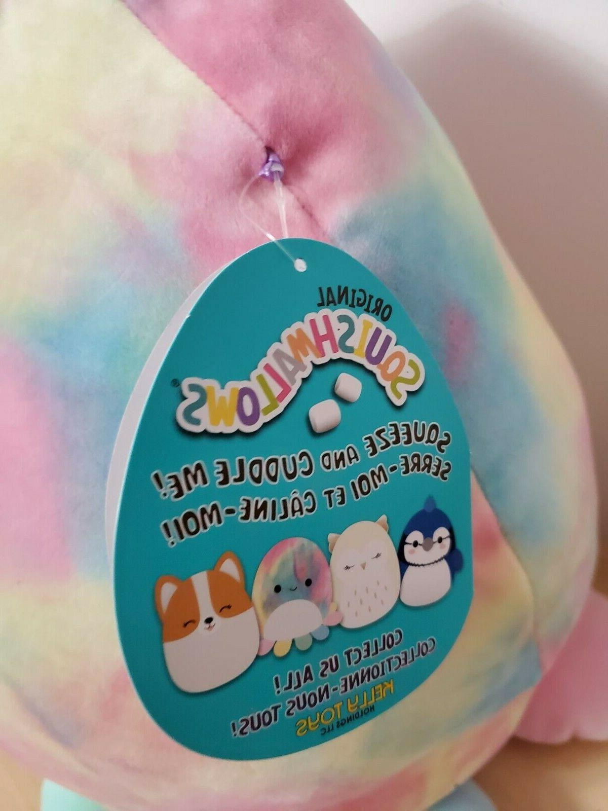 Squishmallow Inch OPAL Octopus Tye Plushies Cuddle Toy FREE SHIPPING