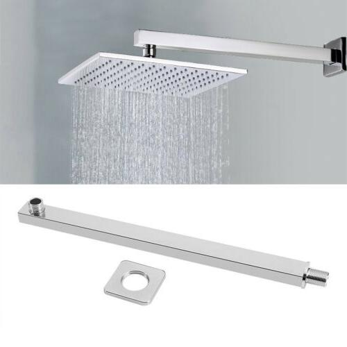 16inch Chrome Wall Mounted Shower Arm For Head