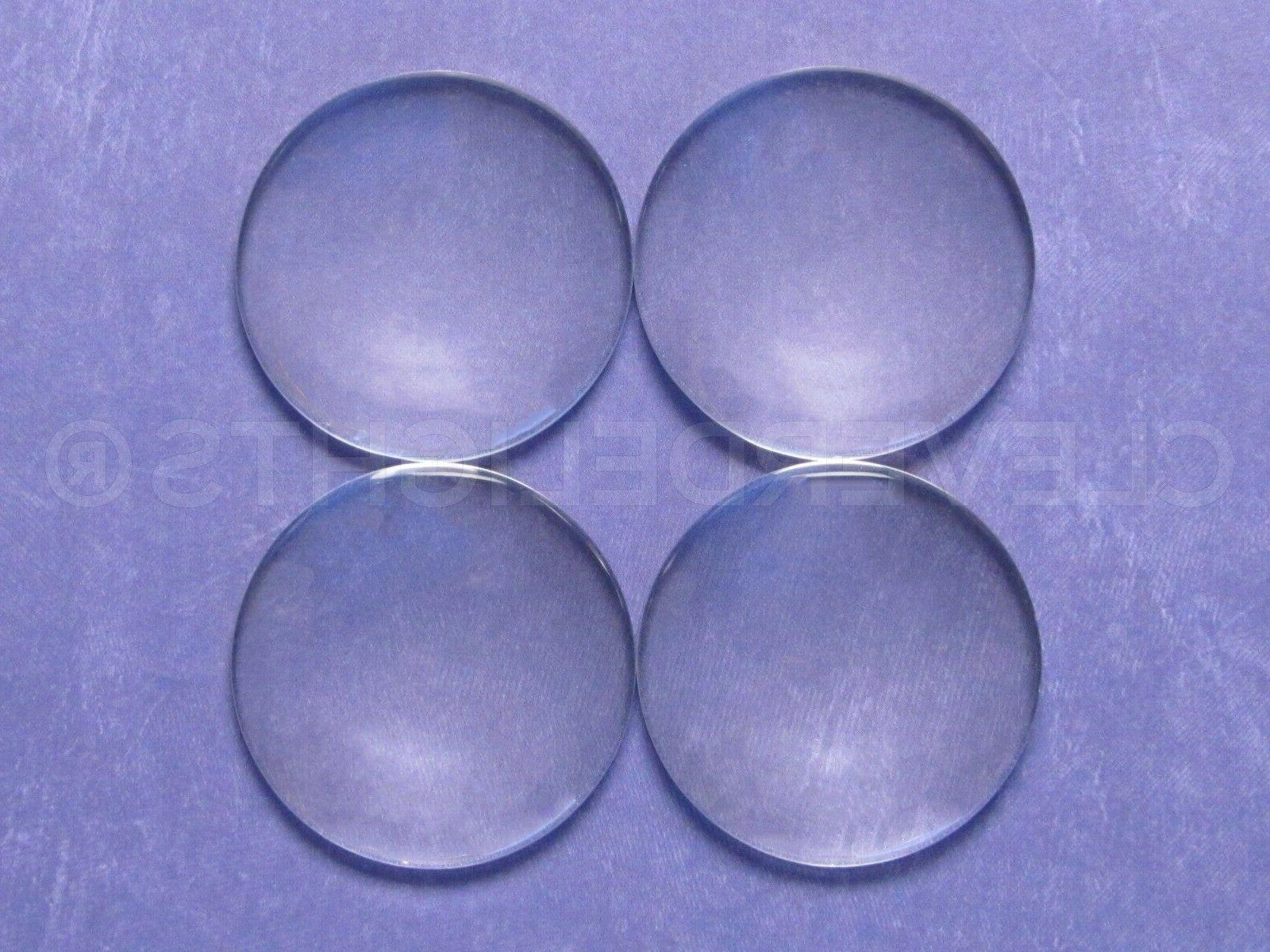 40mm Round - Clear Cabs - 1 9/16 inch 50