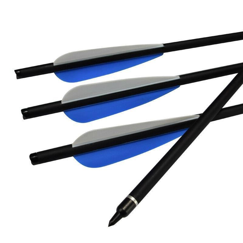 6x 16Inch Archery Carbon For Shooting Practise
