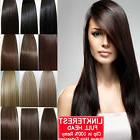 """7pcs 15"""" 18"""" 20"""" 22"""" Clip In Remy Real 100% Human Hair Exten"""