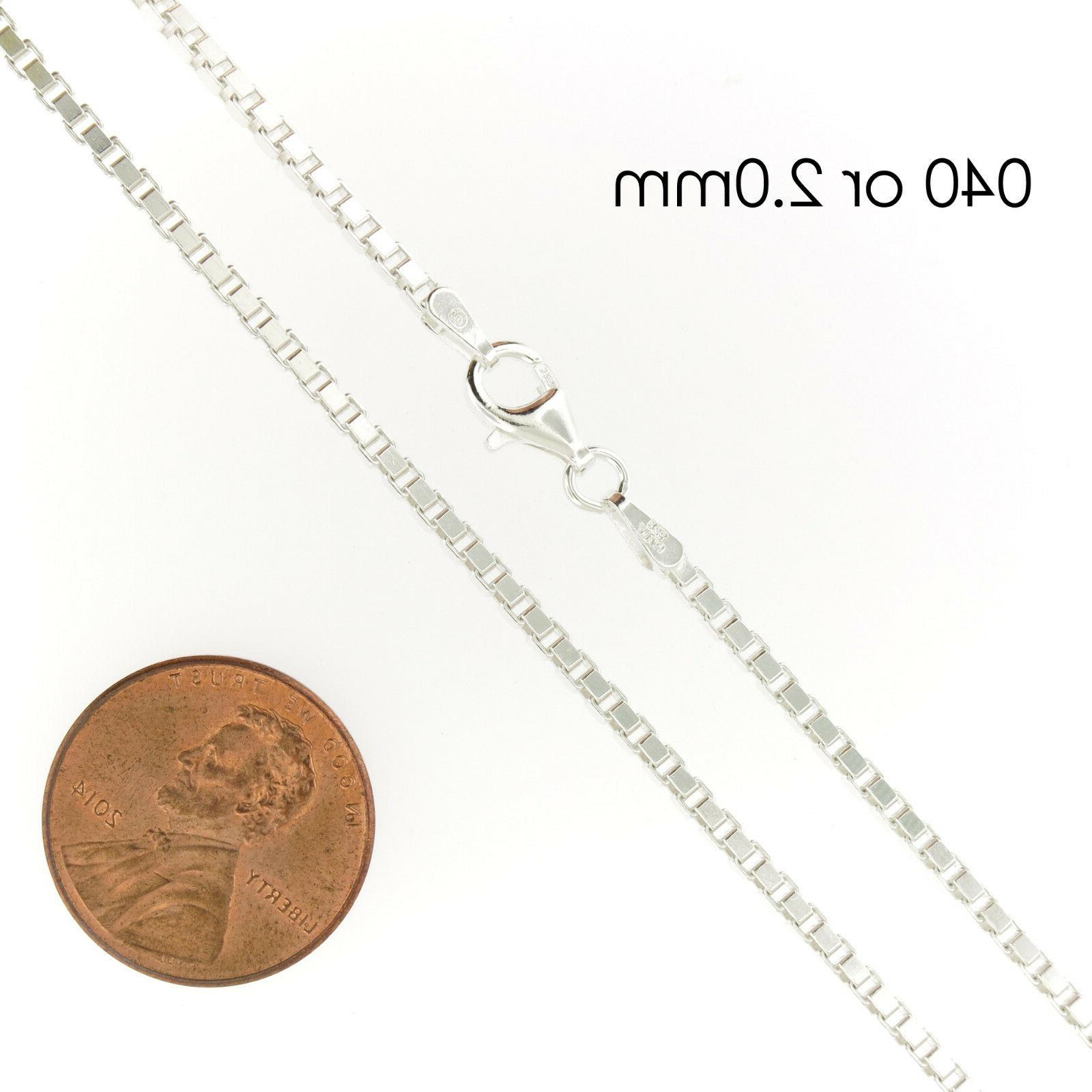 Chain Necklace Stamped .925