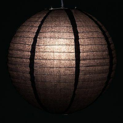 "Black Paper Lanterns 12"", 16"" and sizes"