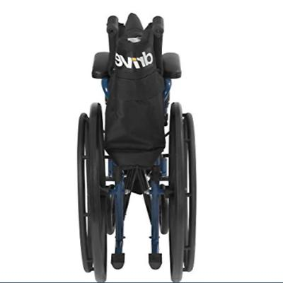 Wheelchair with Desk Arms Leg Rest