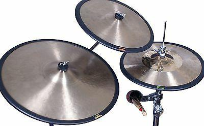 Cymbal Mute: Cymgard 4-Pack 14, and 20-inch Yellow