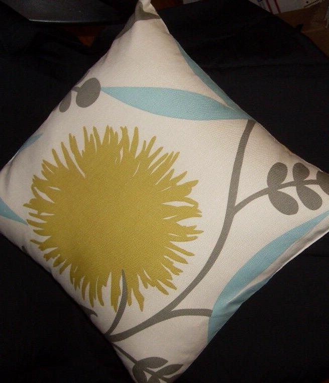 Decorator 16 inch lime floral