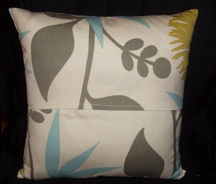 Decorator weight inch pillow lime floral