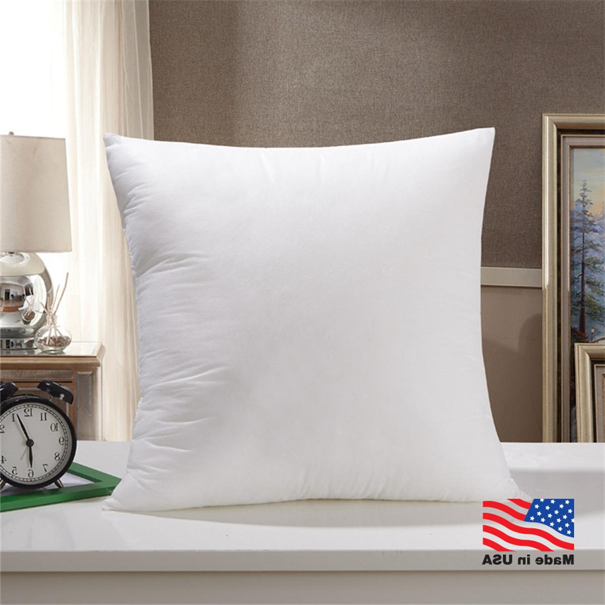 Throw Pillow Insert Form Inserts Euro Square Pillows Hypoall