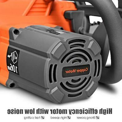 Electric Compact Chainsaw w/ Oiling