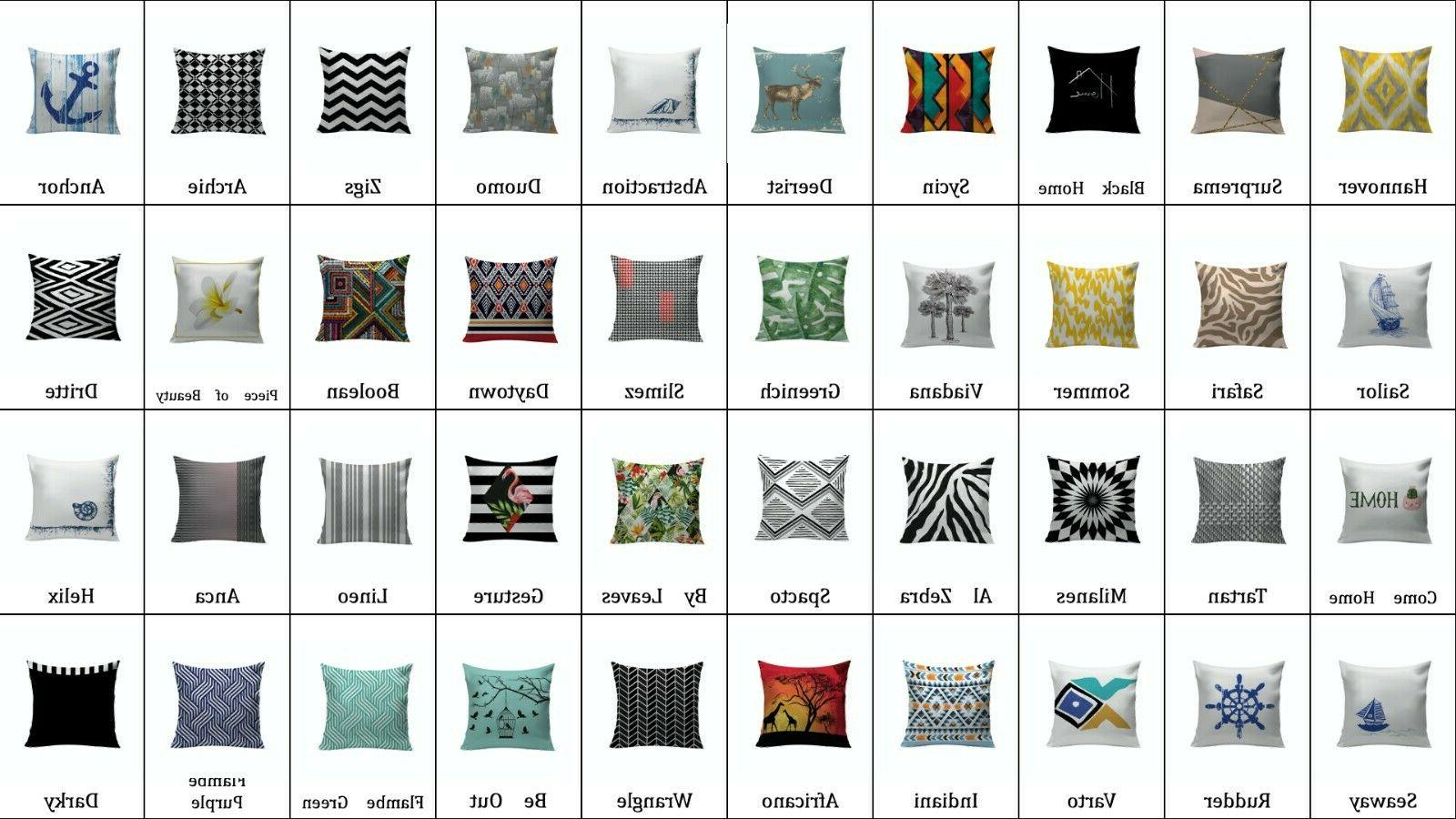 first class design decorative square throw pillow