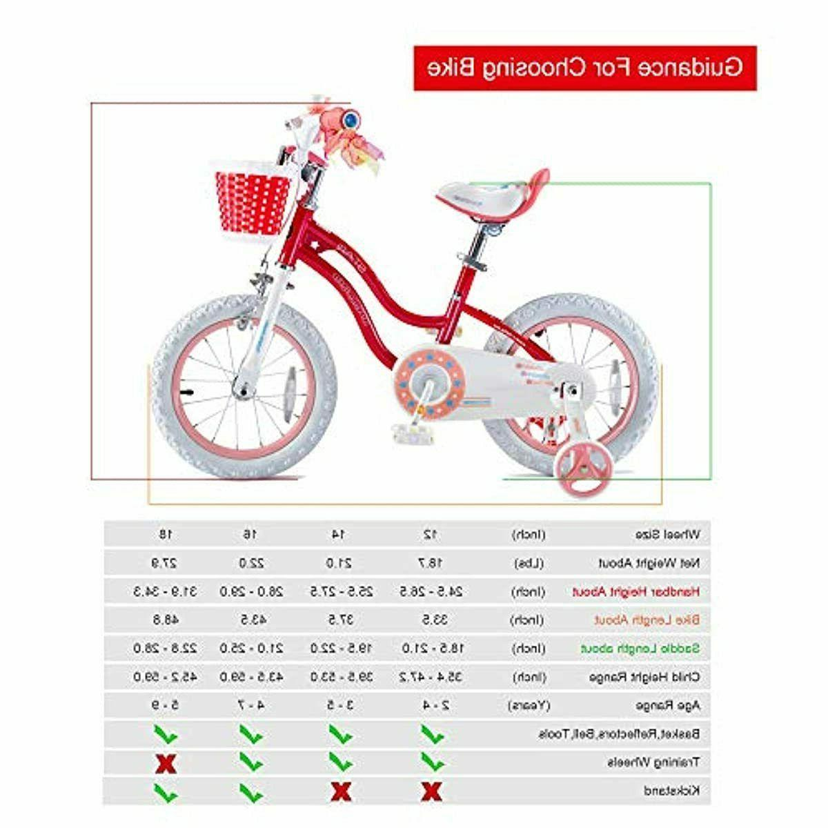 Girls Bike Bicycle 3-9 Years Old Basket NEW