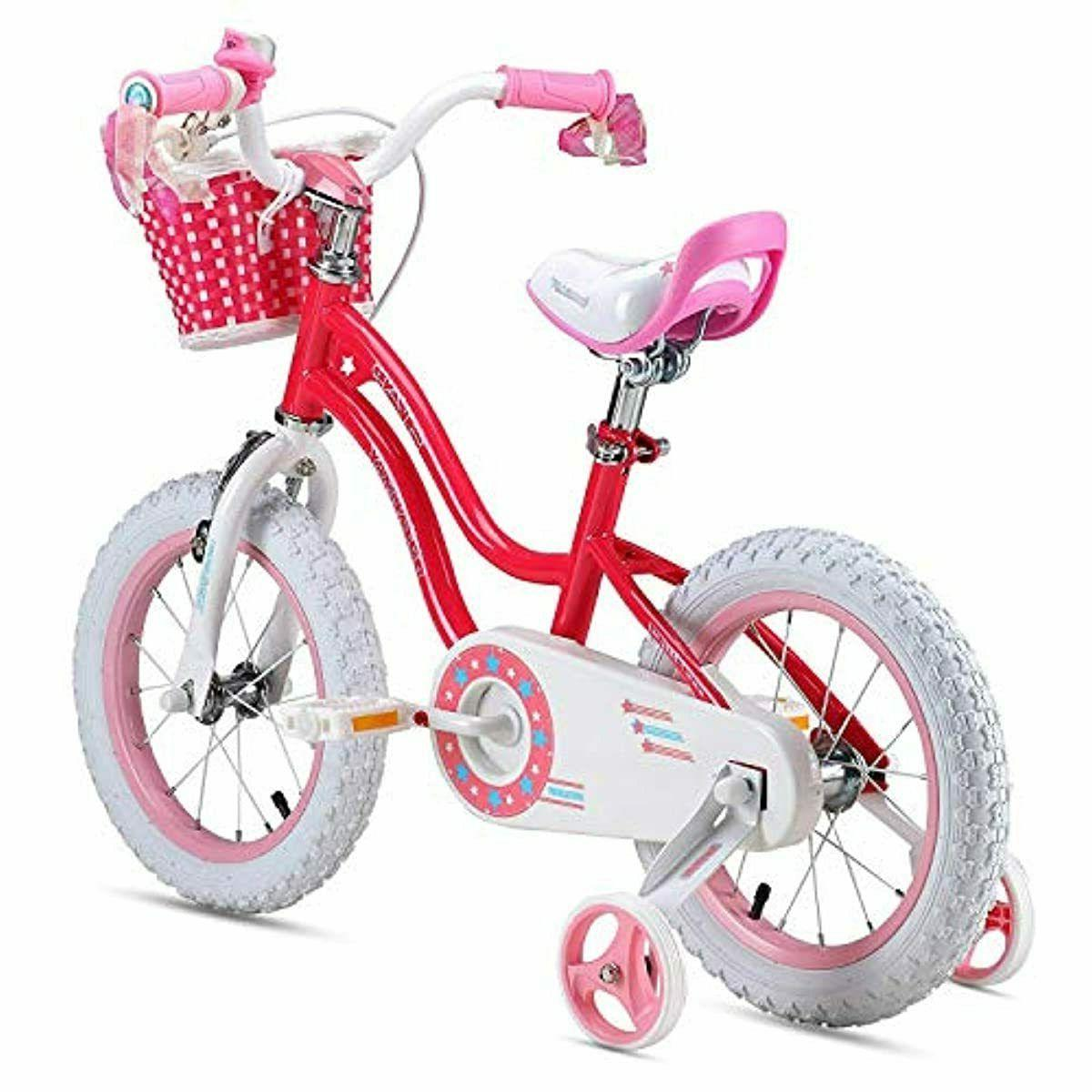 Girls Bicycle 3-9 Basket and