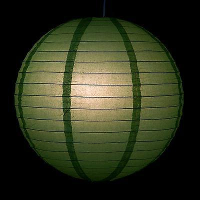 """Green Paper Party Lanterns - and 20"""""""